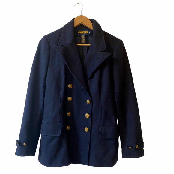Ralph Lauren Rugby   Wool Military Pea Coat